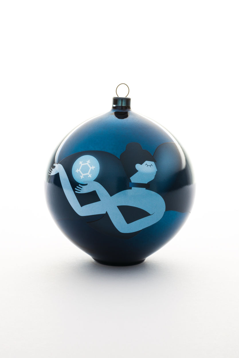 Alessi Blue Christmas