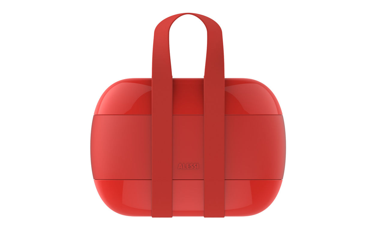 Food A Porter Lunchbag Red