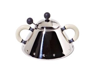 Alessi SUGAR BOWL AND SPOON