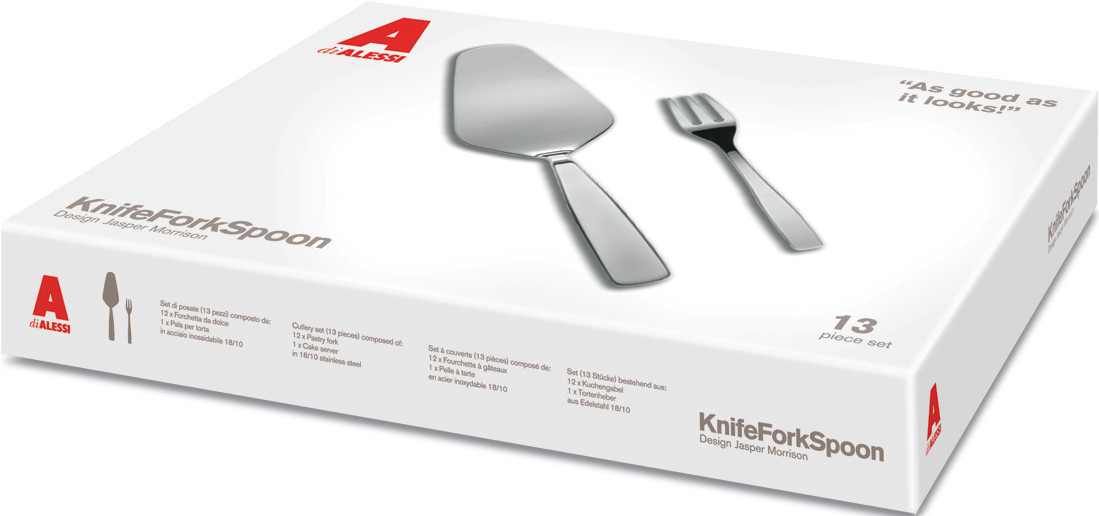 Alessi KnifeForkSpoon