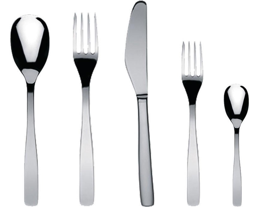 Alessi KNIFEFORKSPOON 5 PCS.