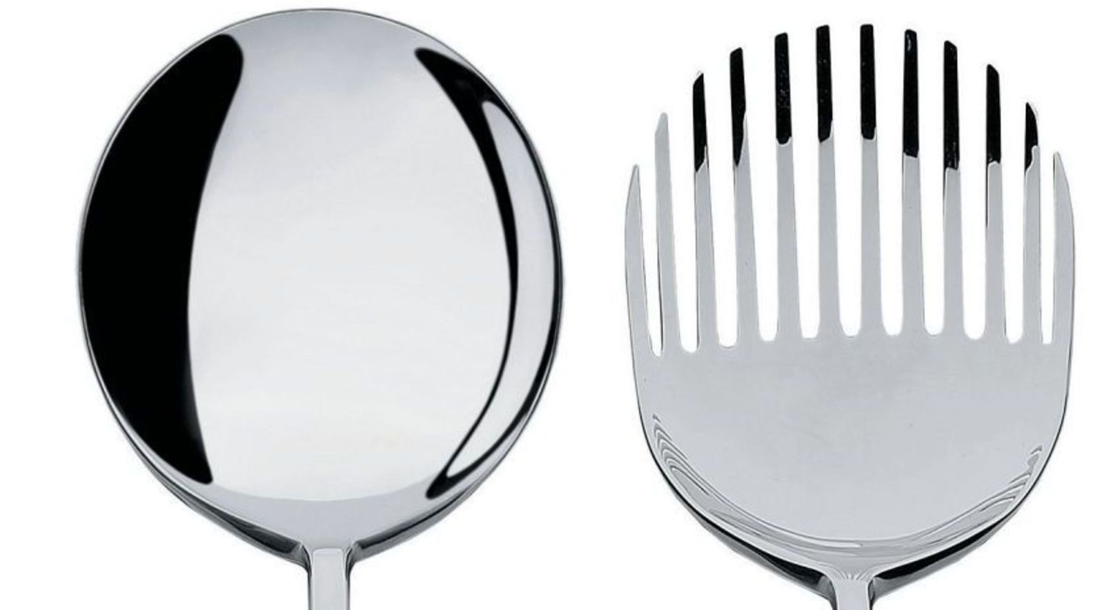 Alessi COLLO-ALTO,SALAD SET