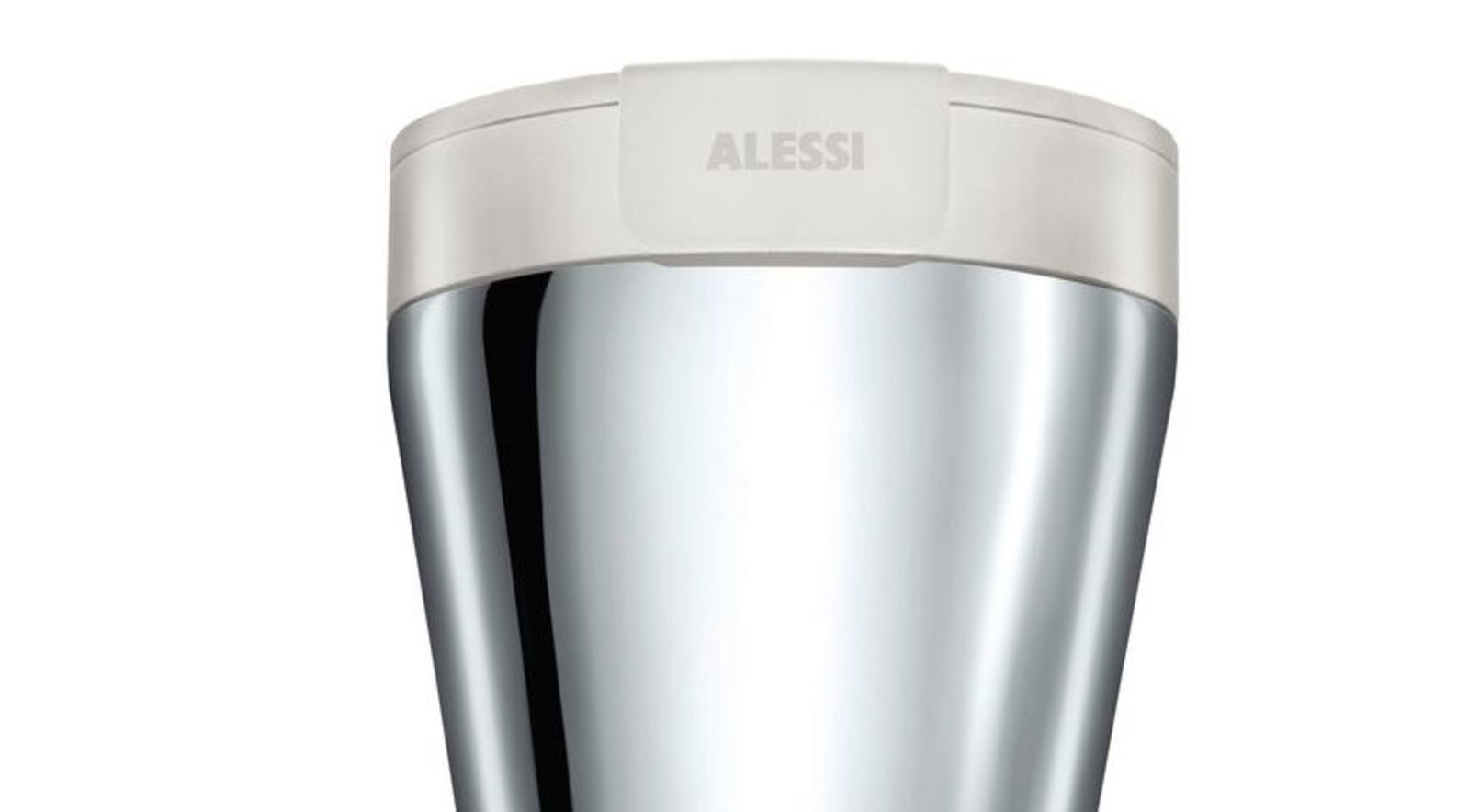 Alessi Caffa Wit Thermos Beker